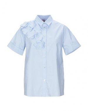 Pубашка ANDREA TURCHI. Цвет: небесно-голубой