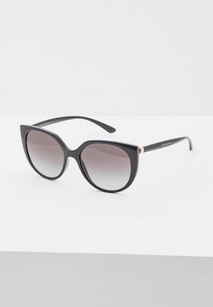 Очки солнцезащитные Dolce&Gabbana DG6119 501/8G. Цвет: черный