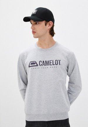 Свитшот Camelot. Цвет: серый