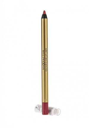Карандаш для губ Max Factor Colour Elixir Lip Liner, 4 Pink Princess, 1,2 гр. Цвет: красный