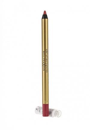 Карандаш для губ Max Factor Colour Elixir Lip Liner 04 тон pink princess. Цвет: красный