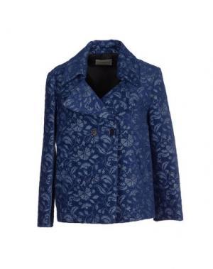 Пальто ...À_LA_FOIS.... Цвет: синий