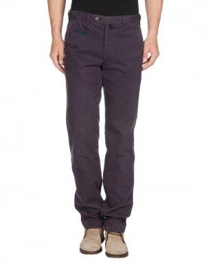 Повседневные брюки HOLDEN. Цвет: темно-фиолетовый