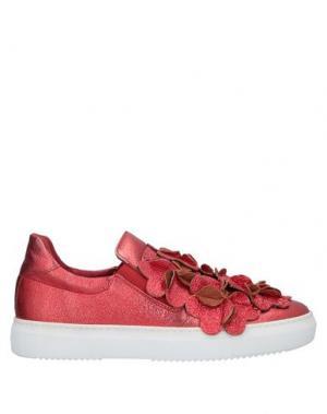 Низкие кеды и кроссовки AURORA. Цвет: красный