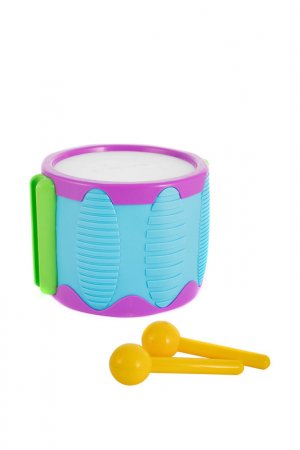 Игрушка Барабан с палочками Little Tikes. Цвет: голубой