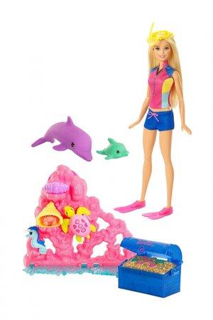 - Морские приключения Barbie. Цвет: мультицвет, розовый