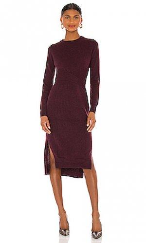 Платье Autumn Cashmere. Цвет: красное вино
