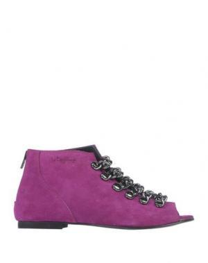 Ботинки LE DANGEROUGE. Цвет: пурпурный
