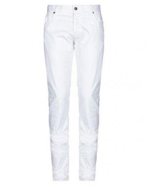 Повседневные брюки HISTORIC. Цвет: белый