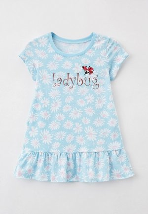 Платье домашнее Mark Formelle. Цвет: голубой