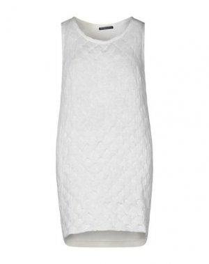 Короткое платье ANDREA TURCHI. Цвет: светло-желтый
