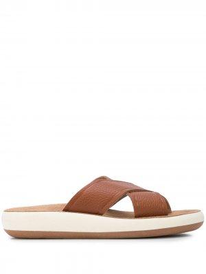 Шлепанцы Thais Ancient Greek Sandals. Цвет: коричневый