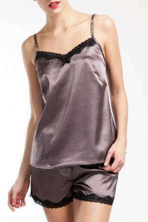 Пижама Lascana. Цвет: серый