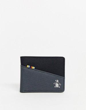 Бумажник -Черный Original Penguin