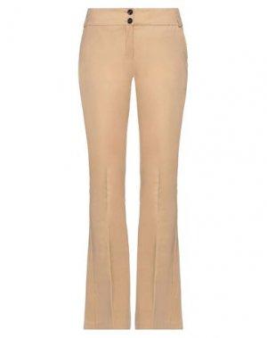 Повседневные брюки COMPAGNIA ITALIANA. Цвет: песочный