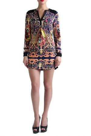 Туника-платье EVA Milano. Цвет: мультицвет