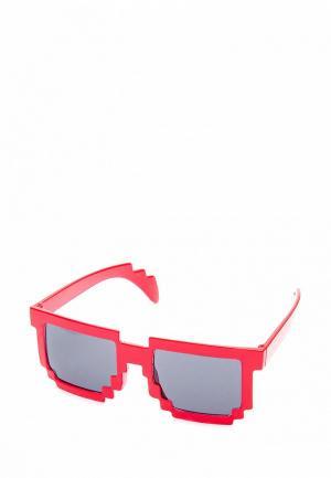 Очки солнцезащитные Maskbro. Цвет: красный