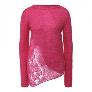 Пуловер Saint Laurent. Цвет: розовый