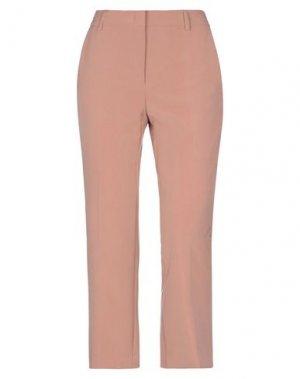 Повседневные брюки COMPAGNIA ITALIANA. Цвет: телесный