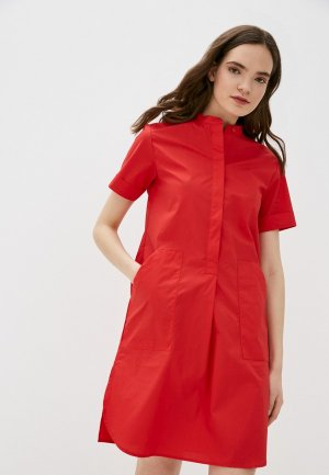 Платье Savage. Цвет: красный
