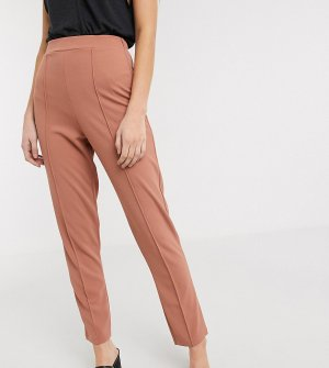Брюки-галифе со складками ASOS DESIGN Tall-Розовый Tall