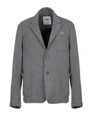 Пиджак AERONAUTICA MILITARE. Цвет: серый
