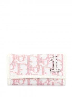 Ключница с узором Trotter Christian Dior. Цвет: розовый