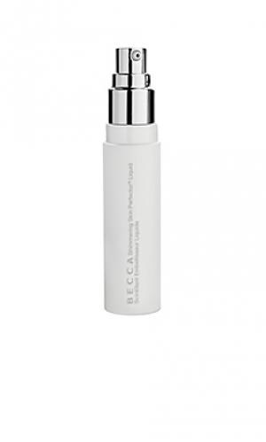 Флюид-хайлайтер shimmering skin BECCA. Цвет: белый