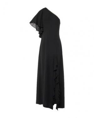 Длинное платье RINASCIMENTO. Цвет: черный