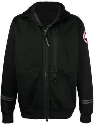 Куртка Science Research с капюшоном Canada Goose. Цвет: черный