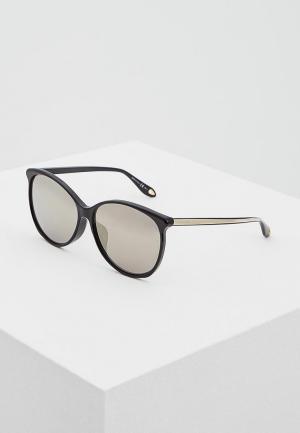 Очки солнцезащитные Givenchy GV 7098/F/S 807. Цвет: черный