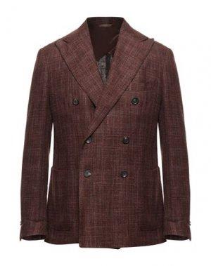 Пиджак DOPPIAA. Цвет: коричневый