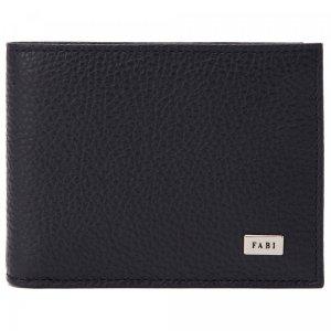 Бумажник Fabi. Цвет: синий