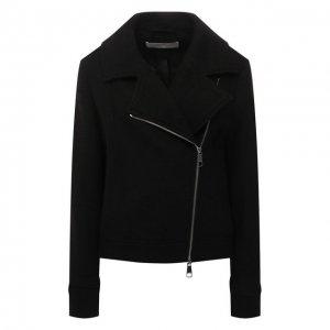 Шерстяная куртка BOSS. Цвет: чёрный