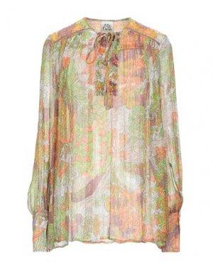 Блузка ATTIC AND BARN. Цвет: оранжевый