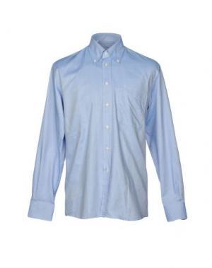 Pубашка HARRY & SONS. Цвет: пастельно-синий