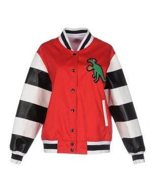 Куртка AU JOUR LE. Цвет: красный