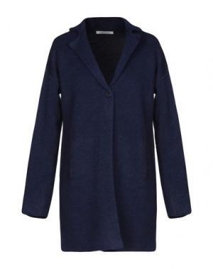 Пальто ANIS. Цвет: темно-синий