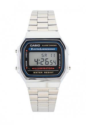 Часы Casio Collection A-168WA-1. Цвет: серебряный
