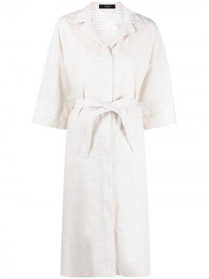 Платье Daga Ramie Voile Joseph. Цвет: нейтральные цвета