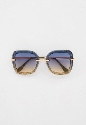 Очки солнцезащитные Fabretti. Цвет: разноцветный