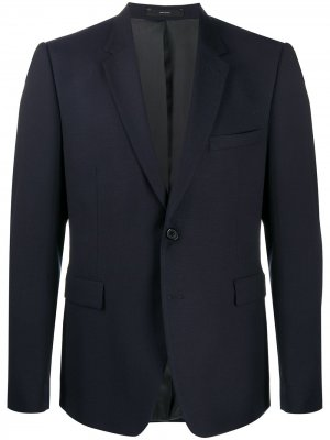 Пиджак строгого кроя Paul Smith. Цвет: синий