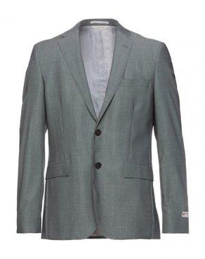 Пиджак BROOKS BROTHERS. Цвет: серый