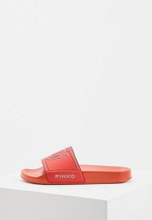 Сланцы Pinko. Цвет: красный