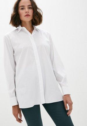 Рубашка Theory. Цвет: белый