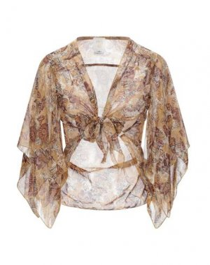 Pубашка ANNA SUI. Цвет: коричневый