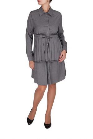 Платье Beatrice. B. Цвет: серый