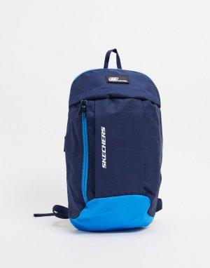 Синий рюкзак Skechers