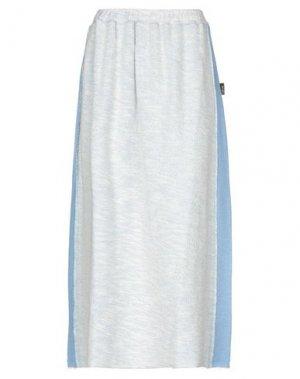 Длинная юбка F**K PROJECT. Цвет: грифельно-синий