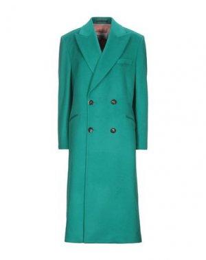 Пальто CASABLANCA. Цвет: изумрудно-зеленый